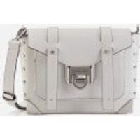 MICHAEL MICHAEL KORS Womens Manhattan Small Messenger Bag - Optic White