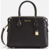 MICHAEL MICHAEL KORS Women's Mercer Belted Medium Satchel Bag - Black