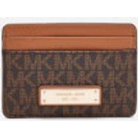 Michael Michael Kors Money Pieces Card Holder - Brown
