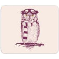 'Winter Owl Mouse Mat