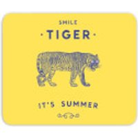 Smile Tiger Mouse Mat - Tiger Gifts