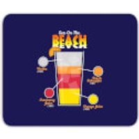 Infographic Sex On The Beach Mouse Mat - Sex Gifts