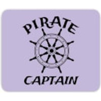 Pirate Captain Mouse Mat - Pirate Gifts