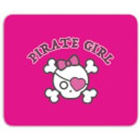 Pirate Girl Mouse Mat - Pirate Gifts