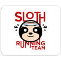 Sloth Running Team Mouse Mat - Running Gifts