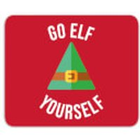Go Elf Yourself Mouse Mat - Elf Gifts