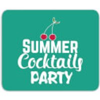 Summer Cocktails Party Mouse Mat - Party Gifts