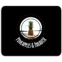 Pineapples And Paradise Mouse Mat