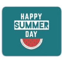 Happy SUmmer Day Mouse Mat - Summer Gifts