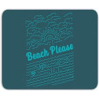Beach Please Mouse Mat - Beach Gifts