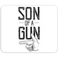 Son Of A Gun Mouse Mat - Son Gifts