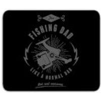 Fishing Dad Mouse Mat - Fishing Gifts