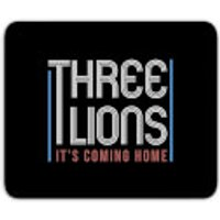 Three Lions It's Coming Home Mouse Mat - Home Gifts