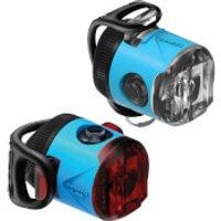 Lezyne LED Femto USB Drive Light Set - Blue