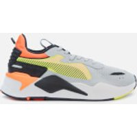 Puma Men's RS-X Hard Drive Trainers - High Rise/ Yellow Allert - UK 11 - Yellow