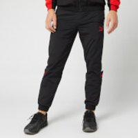 Puma Men's XTG Woven Pants - Puma Black/Red Combo - L - Black