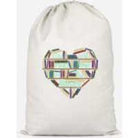 You Will Find Me In The Library Cotton Storage Bag - Small