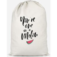 You're One In A Melon Cotton Storage Bag - Large
