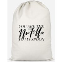 You Are The Nutella To My Spoon Cotton Storage Bag - Large - Nutella Gifts