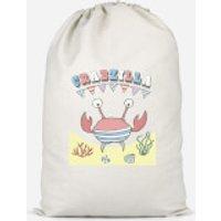 Crabzilla Cotton Storage Bag - Large