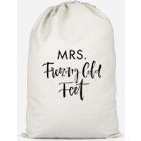 Mrs. Freezing Cold Feet Cotton Storage Bag - Large