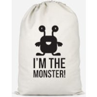 I'm The Monster Cotton Storage Bag - Large