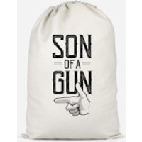 Son Of A Gun Cotton Storage Bag - Large - Son Gifts