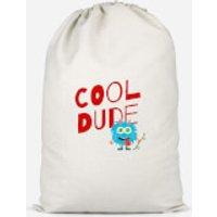 Cool Dude Skateboard Cotton Storage Bag - Large - Skateboard Gifts