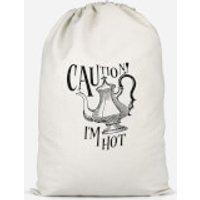 Caution! I'm Hot Cotton Storage Bag - Large
