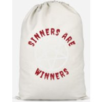 Sinners Are Winners Cotton Storage Bag - Small