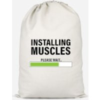 Installing Muscles Cotton Storage Bag - Large