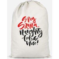 Naughty Feels So Nice Cotton Storage Bag - Large