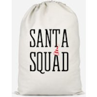Santa Squad Cotton Storage Bag - Large