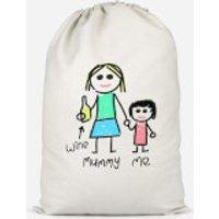 Mummy & Me Cotton Storage Bag - Large
