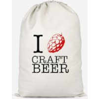 I Hop Craft Beer Cotton Storage Bag - Small