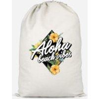 Aloha Beach Vibes Cotton Storage Bag - Large - Beach Gifts