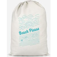 Beach Please Cotton Storage Bag - Large - Beach Gifts
