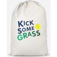 Kick Some Grass Cotton Storage Bag - Large