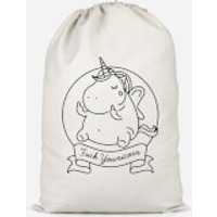 F*** Younicorn Cotton Storage Bag - Large