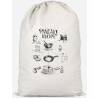 Pancake Recipe Cotton Storage Bag - Small