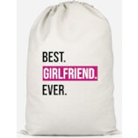 Best Girlfriend Ever Cotton Storage Bag - Large - Girlfriend Gifts