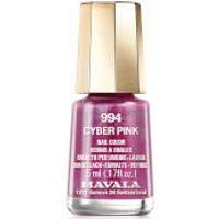 Mavala Cyber Chic Mini Colour Nail Varnish 5ml (Various Shades) - Cyber Pink