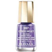 Mavala Cyber Chic Mini Colour Nail Varnish 5ml (Various Shades) - Cyber Violet