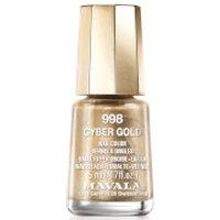 Mavala Cyber Chic Mini Colour Nail Varnish 5ml (Various Shades) - Cyber Gold