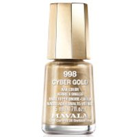 Mavala Cyber Chic Mini Colour Nail Varnish 5ml (Various Shades) - Cyber Gold