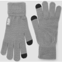 MP Knitted Gloves - Grey - S/M