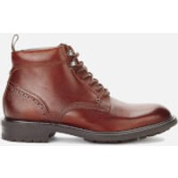 Ted Baker Mens Wottsn Leather Lace Up Boots - Tan - UK 8 - Tan