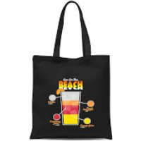 Infographic Sex On The Beach Tote Bag - Black - Sex Gifts
