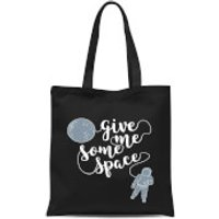 Give Me Some Space Tote Bag - Black