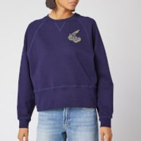 Vivienne Westwood Anglomania Women's Athletic Sweatshirt - Navy - M - Blue